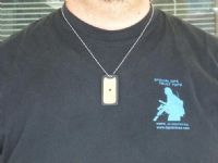 TOPS Survival Dog Tag Signal Mirror